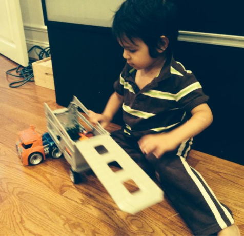 Eli with transformer